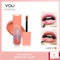 The Simplicity Matte Lip Color by You Makeups - I Love It