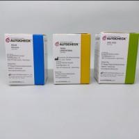 Strip Auto check paket Strip Gula, Kolesterol & Asam urat (3 botol)