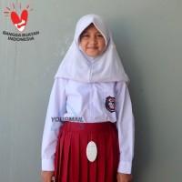 Seragam Baju SD Panjang Bahan TC Perempuan