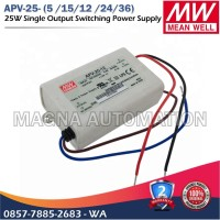 POWER SUPPLY LED DRIVER MEANWELL APV-25-12 APV-25-24 MEANWELL 25watt