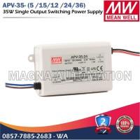 POWER SUPPLY LED DRIVER MEANWELL APV-35-12 APV-35-24 MEANWELL 35watt