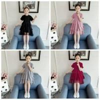 Dress Tile kids 689 VR DRESS TUTU ANAK DRESS ANAK PEREMPUAN baju anak