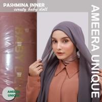 Pashmina + Inner 2in1 Ceruty Baby Doll 75x175 - PCC-Mustard