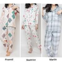 Set Piyama Wanita/Baju Tidur Katun Halus/Piyama Katun/Baju Tdr Cantik