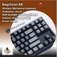 Keychron K8 Hot-swappable Brown Switch RGB Backlight Aluminum Frame