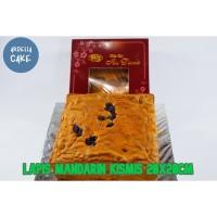 Kue Lapis Mandarin PREMIUM Kismis 20x20cm