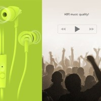 Rock Lava Y1 HiFi In Ear Earphone Bass Microphone