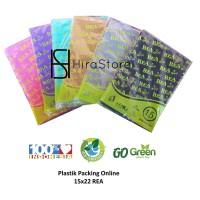 Plastik Packing Online 15x22 REA plastik HD Tanpa Plong packing olshop