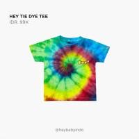 Hey Baby Tie Dye Tee Kaos Anak Bayi - 3-4y