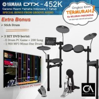 TERMURAH JAKARTA-MUSIK Drum Elektrik Yamaha DTX452 / DTX452K / DTX 452