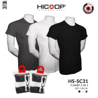 KAOS PRIA HICOOP MEN HS-SC31 T-SHIRT 3 IN 1