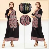 gamis abaya nafisa - longdres muslim - gamis wanita