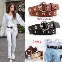 Ikat Ban Pinggang kulit Wanita ring belt Korean fashion