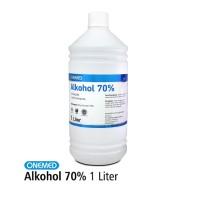 Alkohol 70% OneMed 1Liter