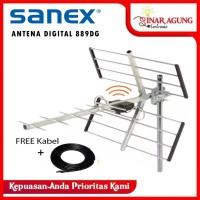 SANEX ANTENA DIGITAL / ANALOG OUTDOOR SN 889DG [ALUMUNIUM] FREE KABEL