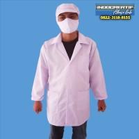 Jas Lab Laboratorium Baju Karyawan Produksi Pabrik Makanan Manufaktur