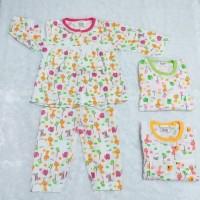 baju tidur anak perempuan motif gajah size 12 sd 18 bulan