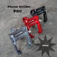 Phone HP Holder Sepeda Motor GUB P20 Rotasi 360
