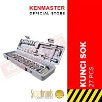 Kenmaster Kunci Sok 27 Pcs