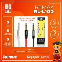 Kabel Aux Audio Remax 1 Meter Jack 3,5mm Original L100 Jack to jack
