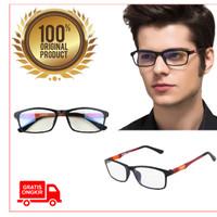 Kacamata Kaca mata Lensa Anti Radiasi Komputer Hp Blue Ray Hitam