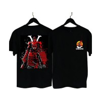 MS BF021 Kaos Distro Pria T-Shirt Pria Kaos Pria SAMURAI Demon