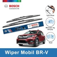 "Bosch Sepasang Wiper Kaca Mobil Honda BRV Advantage 22"" & 16"""