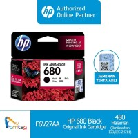 Tinta HP 680 Black Original Ink-Advantage Cartridge