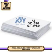 310 GSM Kertas Art Paper / Carton / Karton A4 Putih Glossy 310GSM