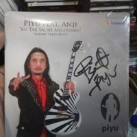 CD MUSIK SINGEL PIYU FEAT ANJI KU TAK SALAH MELEPASMU