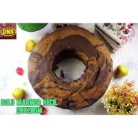 Bolu Marmer Kecil 20x20cm | Marmer Cake PREMIUM | Bolu Marmer Wangi