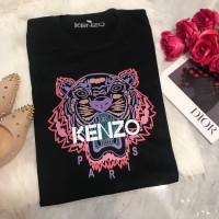 t-shirt Kenzo tiger kaos import branded wanita baju TNT301
