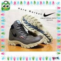 Sale Sepatu Boots Kulit Nike California Pria Sneaker Safety Cowok