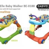 Baby Walker Baby Elle Babyelle 2 In 1 Be0188 Babywalker Shopjorah