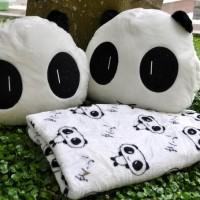 TERLARIS Bantal Selimut (BALMUT) Panda