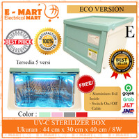 Box Sterilisasi UVC Ozone / Sterilizer Box with UVC Lamp