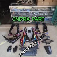 cover full body halus kasar motor supra x 2001 2004