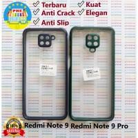 Xiaomi Redmi Note 9 Pro Anti Slip Anti Crack Hybrid Clear Back Case