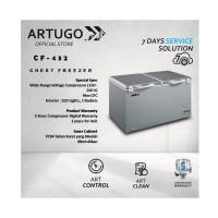 Chest Freezer Stainless Grey ARTUGO CF 432