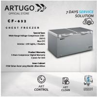 Chest Freezer Stainless Grey ARTUGO CF 632