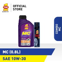 Paket Motor Manual A - TOP 1 MC 10W-30 | 0.8 L