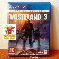 PS4 Wasteland 3 / Waste Land 3