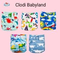 Clodi babyland clody bayi celana popok kain cover saja - baby land - Cover 1 Insert
