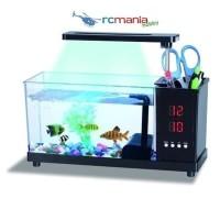 Desktop Mini USB Aquarium Akuarium USB 2014-A fish tank