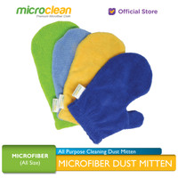 MICROCLEAN All Purpose Cleaning Dust Mitten Sarung Tangan Microfiber