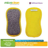 MICROCLEAN Kitchen Washing Up Pad / Sponge Cuci Piring Anti Gores