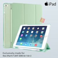 Flip Smart Cover Soft Case Softcase iPad 9.7 5 6 8 Air 1 2