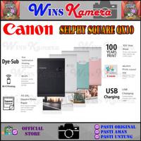 CANON SELPHY SQUARE QX10 - MOBILE PRINTER WIFI - Hitam, Non Paket