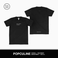 T-SHIRT POPCULINE // BACK TO SCHOOL? NO THANKS! // BLACK