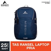 Eiger Diario Frontera 25L 1F Laptop Backpack - Navy 25L